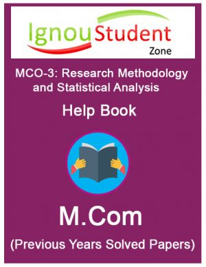 IGNOU MCO 3 Book