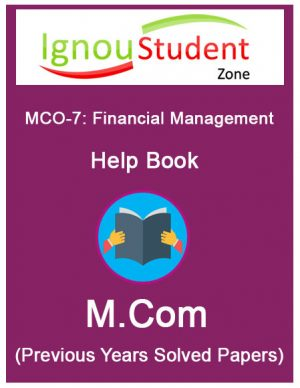 IGNOU MCO 7 Book